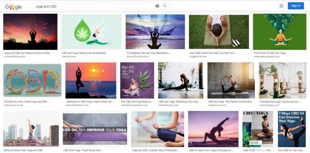 Yoga and CBD - acbdnews.com