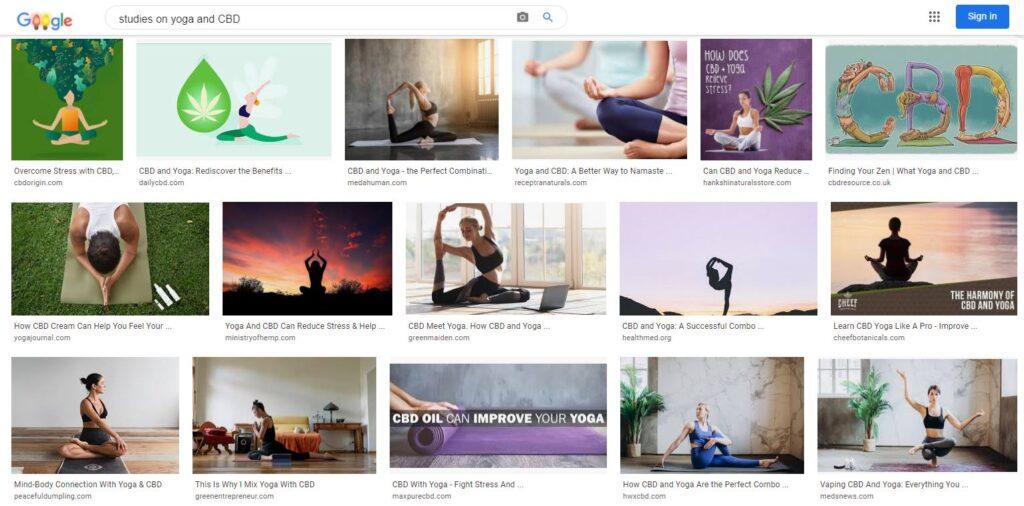 Studies on Yoga and CBD - acbdnews.com
