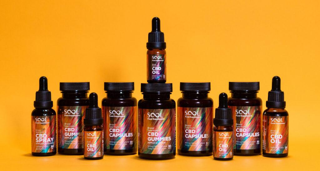 sool cbd broad spectrum range